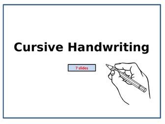 Cursive Handwriting & Tripod Grip