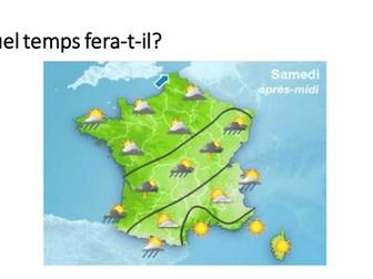 Le temps / La meteo / Weather / Weather in the future
