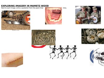 Mametz Wood lesson for Eduqas GCSE 9-1