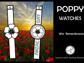 Anzac Day – Poppy Watches
