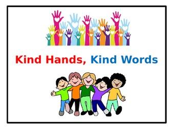 KS1 Assembly: Kind Hands, Kind Words