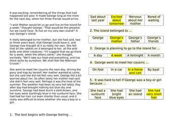 Year 6 daily reading revision