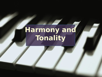 Major and minor tonality