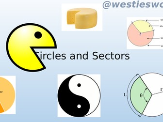 Perimiter and area of Sectors (using degrees)