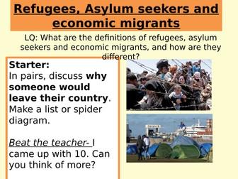 Refugees and Economic Migrants