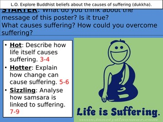 Dukkha and the causes of suffering in Buddhism