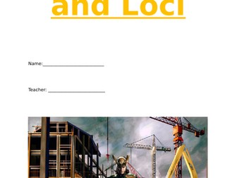 Constructions and Loci workbook