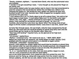KS2 English Sci-Fi Short Story