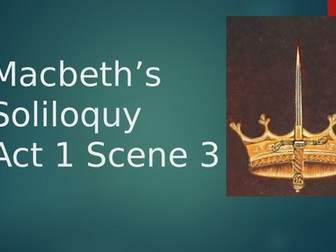analysis of macbeth's soliloquy in act
