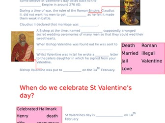 St Valentines Day Quiz
