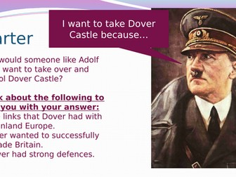 Dover Castle throughout the Second World War