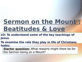 Jesus teachings: Beatitudes