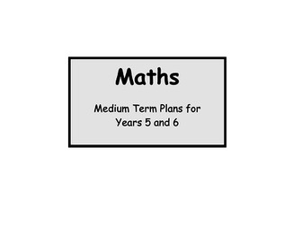 Maths MTP for Year 5 & Year 6