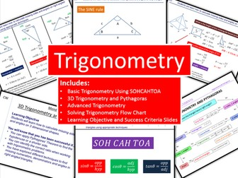 Trigonometry and Advanced Trigonometry