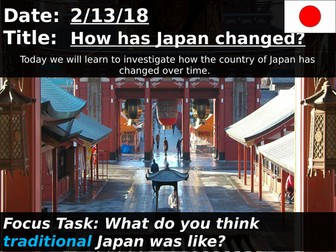 How has Japan changed?