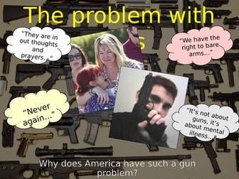 US Gun Problem Assembly - Parkland  Mass School Shooting - Outstanding Assembly