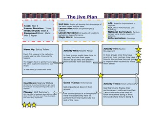 Year 5/6 - The Jive (Dance) Unit of Work