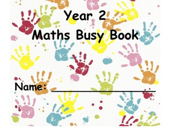 Year 2 Maths TAF Busy Book