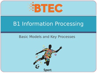 BTEC Sport Level 3 Unit 23 B - Skill Acquisition PowerPoints