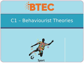 BTEC Sport Level 3 Unit 23 C - Skill Acquisition PowerPoints