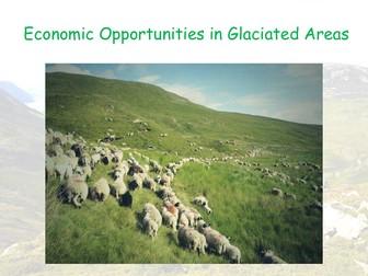 Economic Opportunities - AQA GCSE - Glacial Landscapes