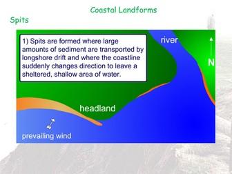 Coastal Landforms Hard Enginerring - AQA GCSE - Coastal Landscapes