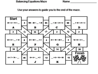 Elementary School: 3rd to 5th Grade Math Mazes Bundle by