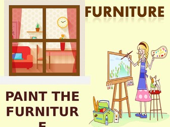 Paint the furniture.