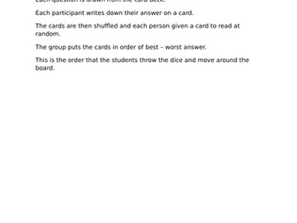GCSE Business revision Game for OCR GCSE (9-1) J204