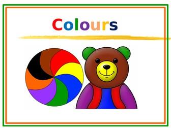 Art - Colours Around Us
