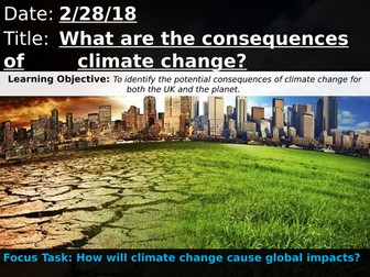 OCR A 9-1 GCSE Geography: What are the consequences of climate change?