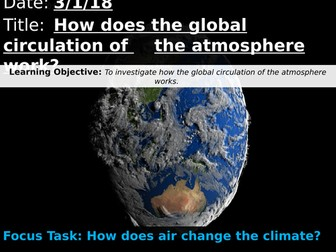 OCR A 9-1 GCSE Geography: How does the global circulation of the atmosphere work?