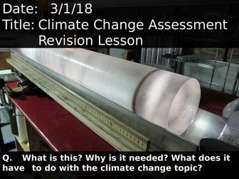 Climate Change Assessment