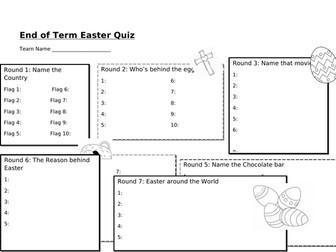 Easter Quiz (2018)