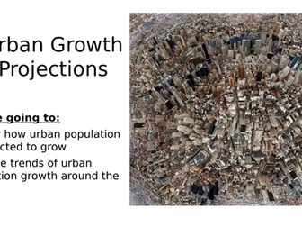 Urban Growth Projections