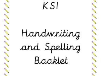 KS1 Handwriting and Spelling Booklet