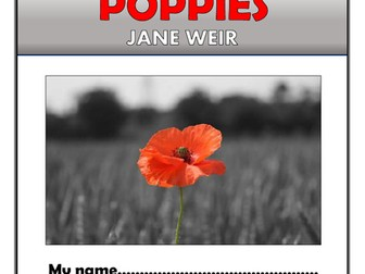 Poppies Comprehension Activities Booklet!