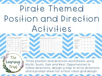Pirate Themed Position and Direction