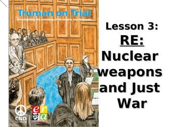 Just War: Hiroshima and Nagasaki