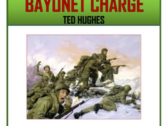 Bayonet Charge Comprehension Activities Booklet!