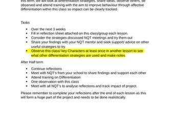 NQT Task - Behavioural