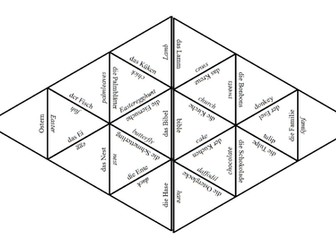 Ostern - Easter Tarsia - German