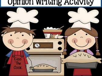 The Best Pie is... ~ Opinion Writing Activity