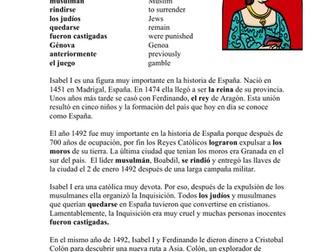 Isabel I Biografía: Reina de España: Spanish Biography Queen Isabella I of Spain