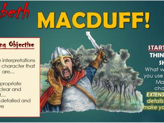 Macbeth: Macduff!