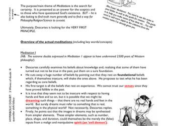 Revision Guide for DESCARTES MEDITATIONS