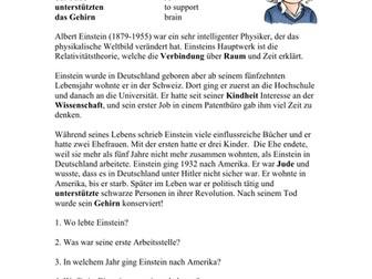 Albert Einstein Biografie - Biography