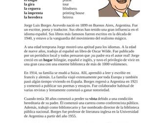 Jorge Luis Borges Biografía - Spanish Biography