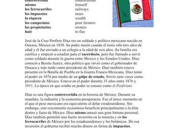 Porfirio Díaz Biografía - Spanish Biography of Porfirio Diaz