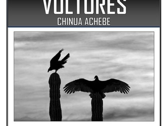 Vultures - Chinua Achebe - Comprehension Activities Booklet!